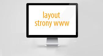 layout strony WWW - prosty cennik