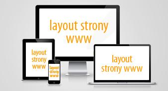 layout strony WWW - rozszerzony cennik