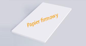 papier firmowy cennik