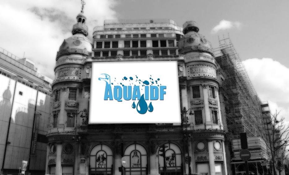 aqua idf - logo