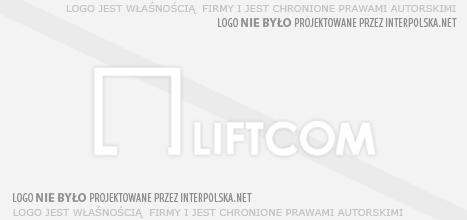 Nie wykonaliśmy logo dla: Liftcom