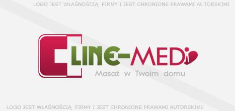 Logo sprzedane: Line-Med - Masaż w Twoim domu