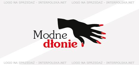 Projekt logo - Modne dłonie