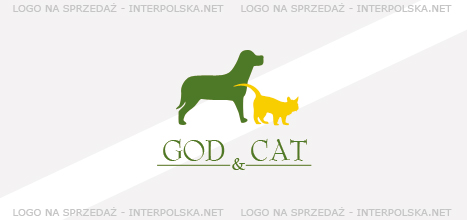 Projekt logo - GOD & CAT