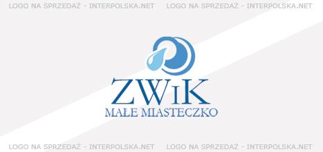 Projekt logo - ZWiK Małe miasteczko