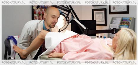 Ginekolog jako fotokatura