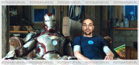 Iron Man jako fotokatura
