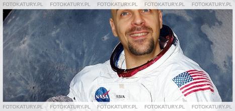 Kosmonauta jako fotokatura