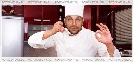 Kucharz jako fotokatura
