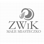 Logo firmy 025 - czarno-białe - ZWiK Małe Miasteczko