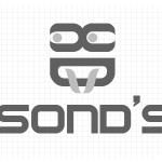 Logo firmy 038 - czarno-białe - Sond's