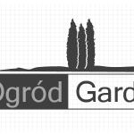 Logo firmy 042 - czarno-białe - Ogród Garden