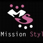 Logo firmy 040 - na ciemnym tle - Mission Styl