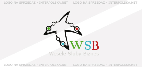 Projekt logo - WSB Wesela Śluby Biznes