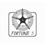 Logo firmy 093 - czarno-białe - Fortune 5