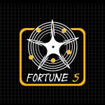 Logo firmy 093 - na ciemny tle - Fortune 5