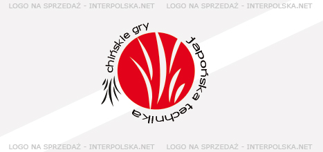 Projekt logo - Chińskie Gry Japońska Technika