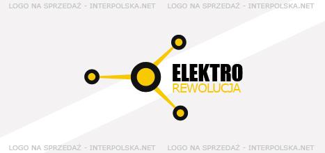 Projekt logo - elektro rewolucja