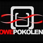 Logo firmy nr 089 - na ciemnym tle - Nowe pokolenie