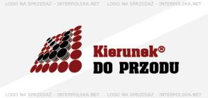 Projekt logo - kierunek do przodu