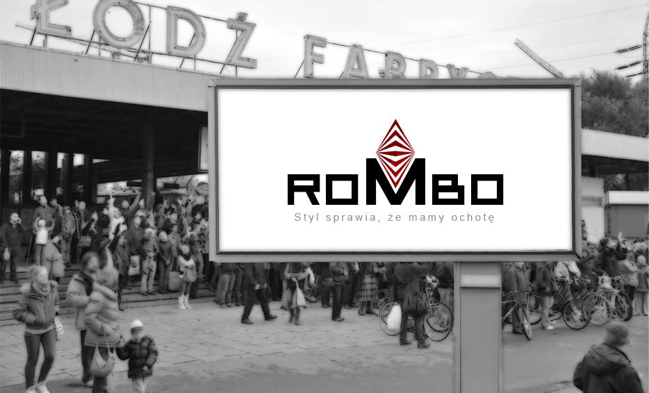 Wizualizacja logo - Logo Rombo