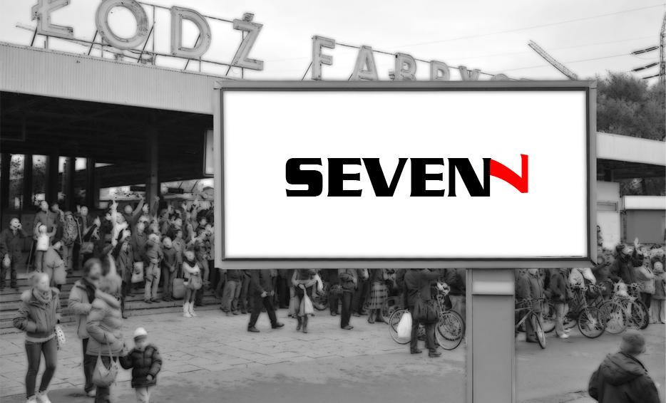Wizualizacja logo - Seven 7