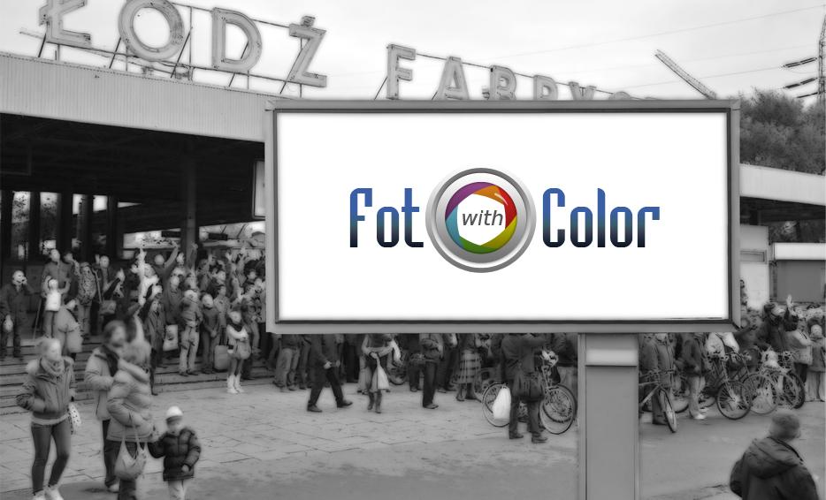 Wizualizacja logo - Foto with Color