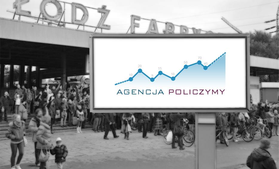 Wizualizacja logo - Agencja Policzymy