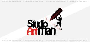 Projekt logo - Studio Artman