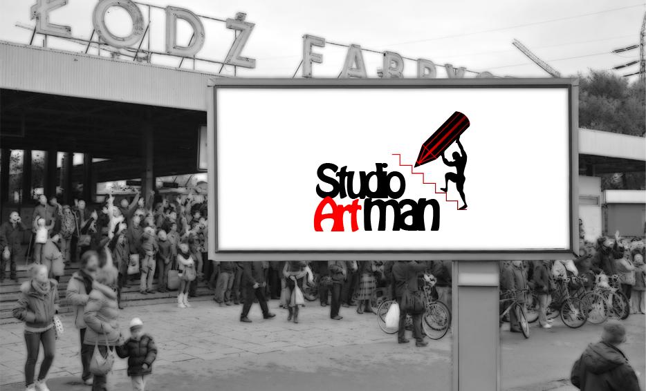 Wizualizacja logo - Studio Artman