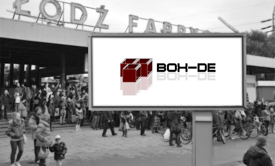 Wizualizacja logo - BOX-DE