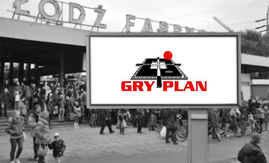 Wizualizacja logo - Gry Plan
