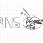 Logo firmy 127 - czarno-białe - RNS