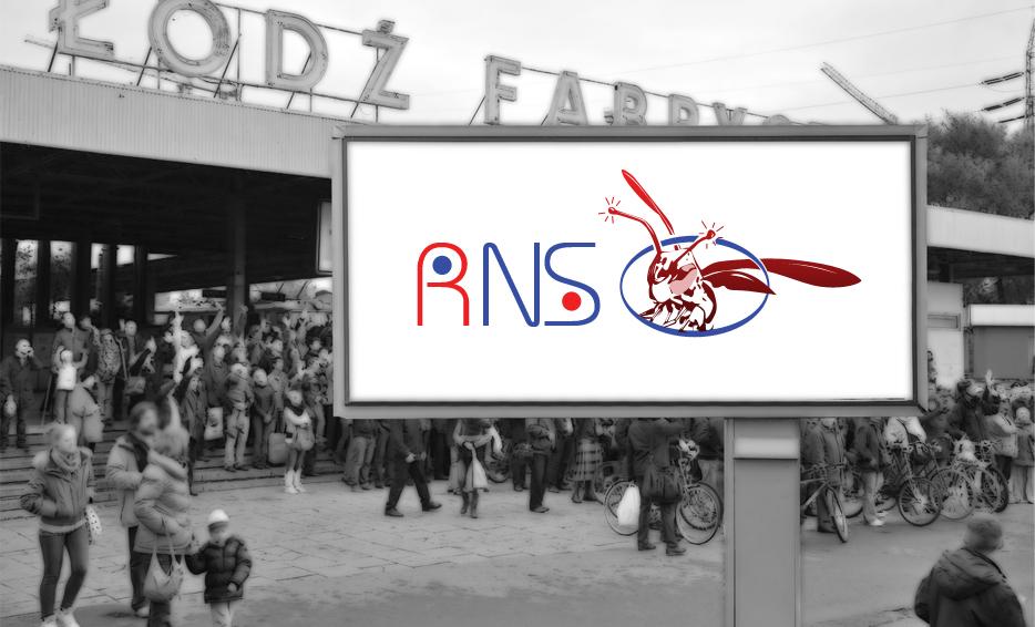 Wizualizacja logo - RNS