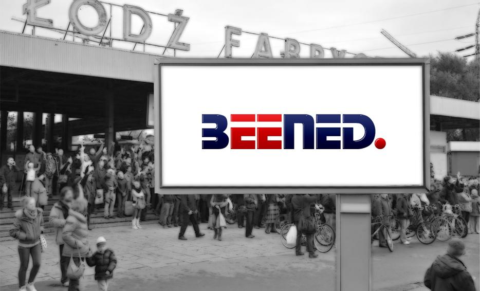 Wizualizacja logo - BEENED.