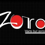 Logo firmy 129 - na ciemnym tle - Zorro