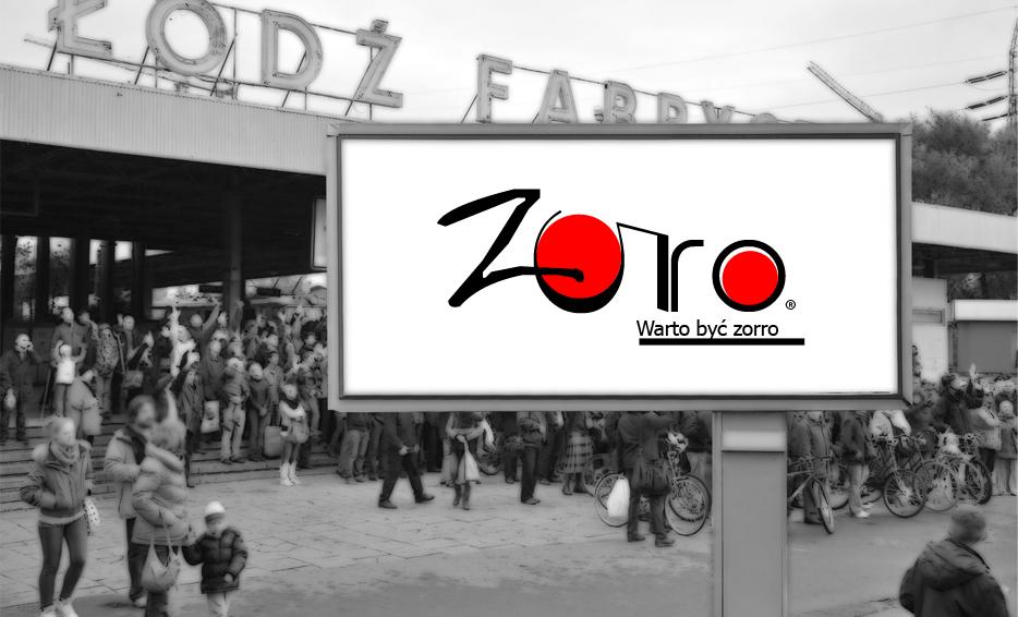 Wizualizacja logo - Zorro
