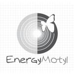 Logo firmy 130 - czarno-białe - Energy Motyl