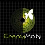 Logo firmy 130 - na ciemnym tle - Energy Motyl