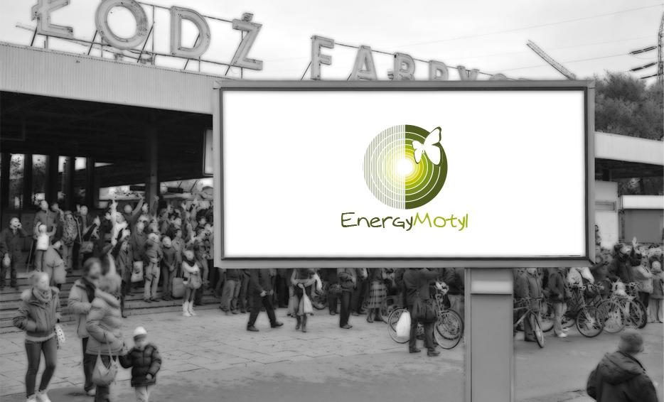 Wizualizacja logo - Energy Motyl