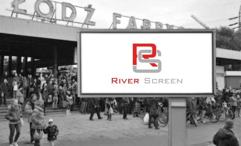 Wizualizacja logo - River Screen
