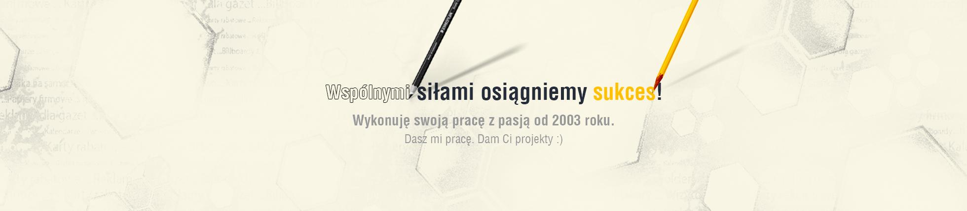 Realizacja projektów: Logo, Strona WWW, Ulotka