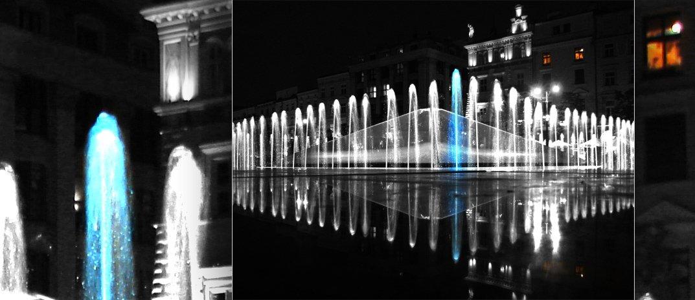 fotografia czarno-biale z elementem koloru