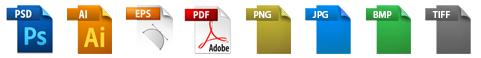 Logotypy plików graficznych