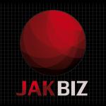 Logo firmy 132 - na ciemnym tle - JAKBIZ