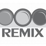 Logo firmy 134 - czarno-białe - Remix