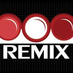 Logo firmy 134 - na ciemnym tle - Remix