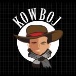 Logo firmy 135 - na ciemnym tle - Kowboj