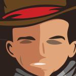 Logo firmy 135 - powiększone - Kowboj